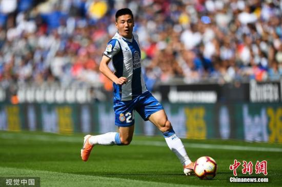 欧联资格赛:西班牙人3-0大胜 武磊替补零射门