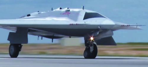 俄用高清視頻秀隱形無人機首飛