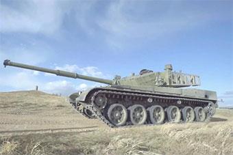 去掉附加装甲99A主战坦克原来长这样