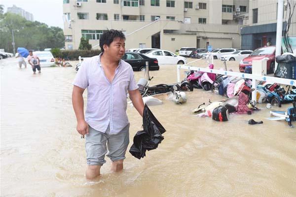 """超强台风""""利奇马""""在浙江温岭登陆"""
