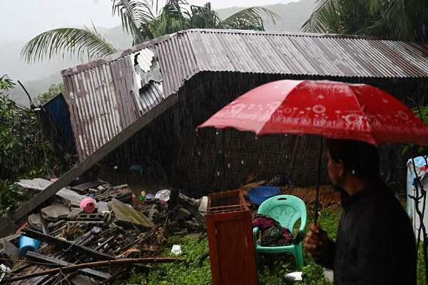 缅甸南部发生山体滑坡 超过15人遇难