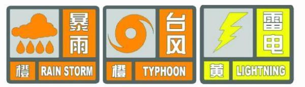 """台风橙色预警!暴雨橙色预警!台风""""利奇马""""逼近上海"""