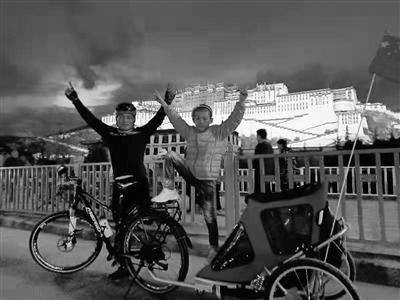 21天风雨无阻,独腿汉子带女儿骑行川藏线