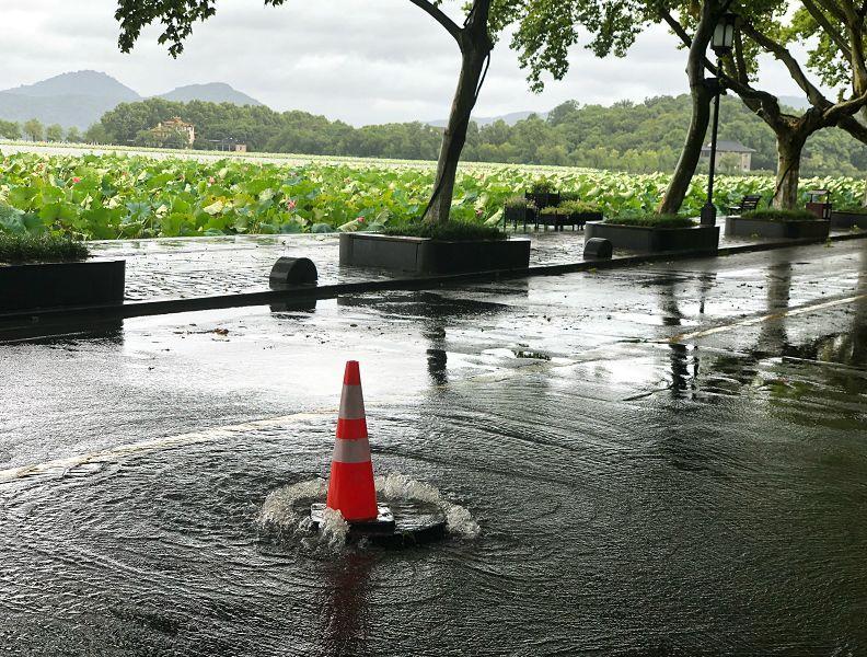 风大雨大,西湖的水满出来了吗?真相来了!