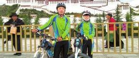 内江10岁女孩25天骑行2250公里
