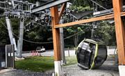加拿大景区缆车电缆被切断