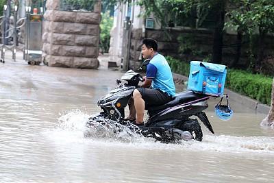 """环渤海地区注意!""""利奇马""""遇冷空气后将激发大范围暴雨天气"""
