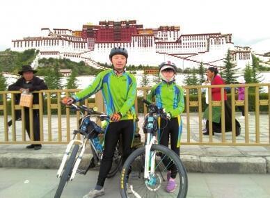 25天骑行2250公里 内江10岁女孩再战川藏线成功