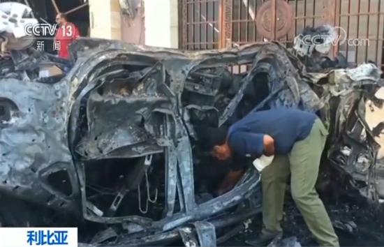 利比亚班加西发生汽车炸弹袭击 两死多伤