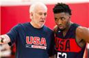美国男篮公布新17人大名单 波波寄厚望于米切尔