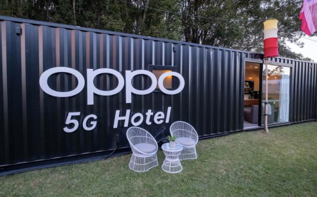 OPPO打造全球首家移動式5G智能酒店 體驗未來生活