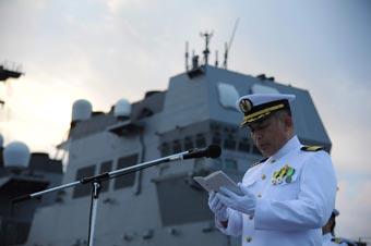 意欲何为?日水陆机动团在南太举行纪念二战仪式