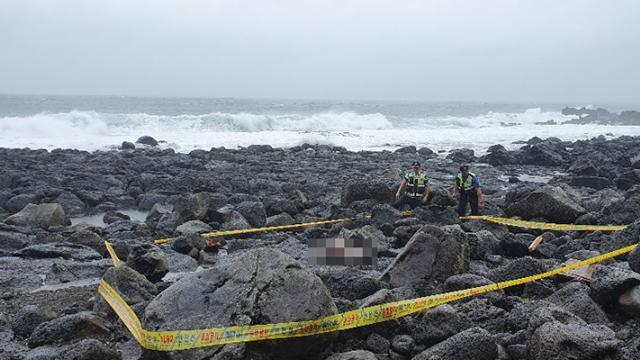 韩国济州海边发现一具中国女性遗体 衣服被脱无外伤
