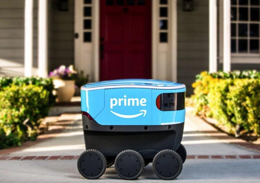 亚马逊送货机器人开到了加州街头 这次能成吗?