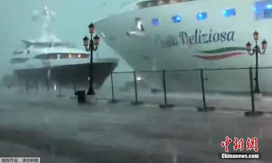 威尼斯主要河道9月起将逐步禁止大型游轮驶入