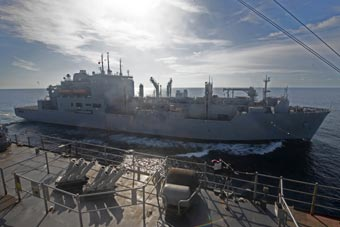 罕见!美军3艘两栖舰大西洋集结进行联合训练