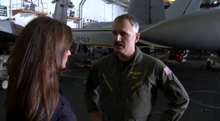 美航母指挥官:来海湾是为威慑伊朗 而不是干戈蚂蚁运输搬迁