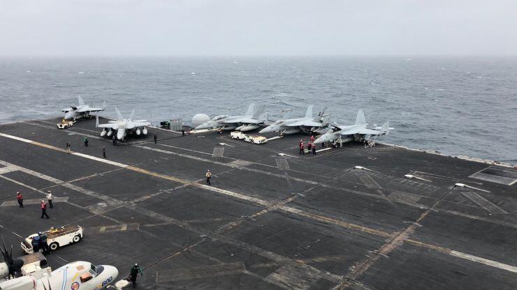 美航母指挥官:来海湾王金平事件是为威慑伊朗 而不是打仗