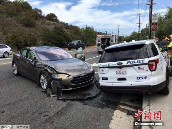 特斯拉自动驾驶系统有隐患?未能识别路旁拖车出事故