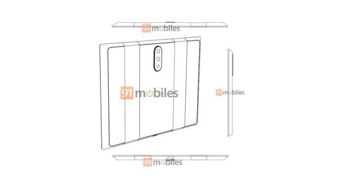 小米折叠屏智能机专利曝光 或采用后置三摄
