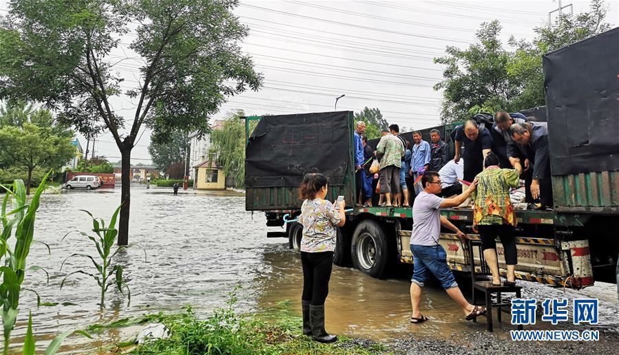 山东370余万人受灾 转移群众得到妥善安置