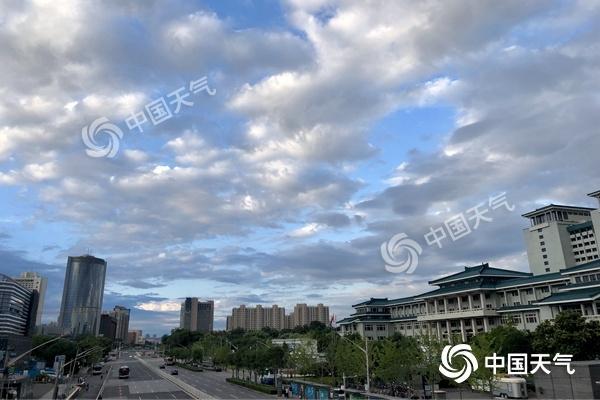 北京今天大风持续东部有小雨 明起晴晒上线