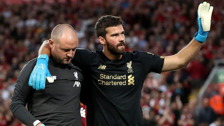 克洛普宣布阿利松伤缺数周 利物浦将签35岁门神