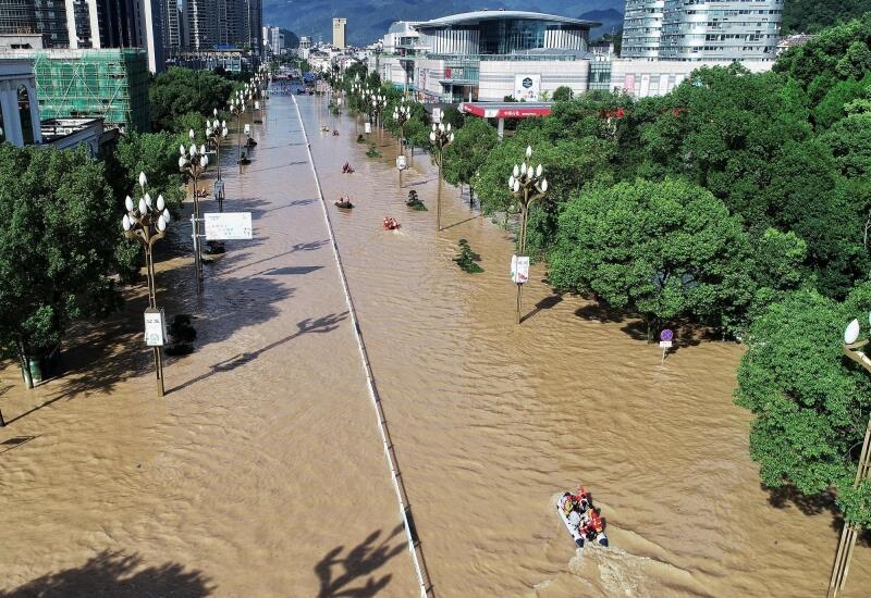 浙江景区推进灾后重建 部分已恢复开放