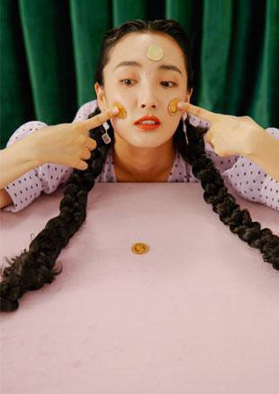 王紫璇时尚复古造型