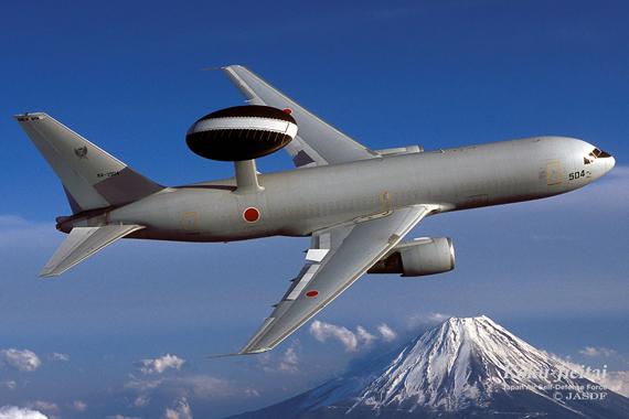 日本最先进预警机将升级 具备出色海上监视能力
