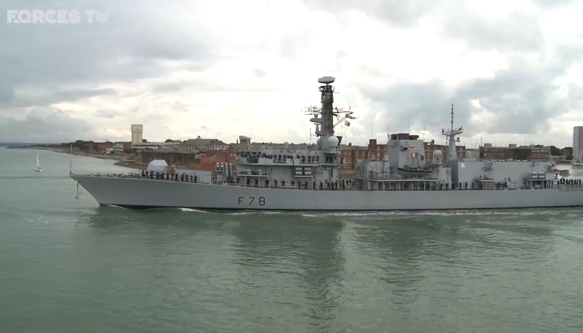 英国向波斯湾派出第3艘军舰 装备导弹威慑伊朗