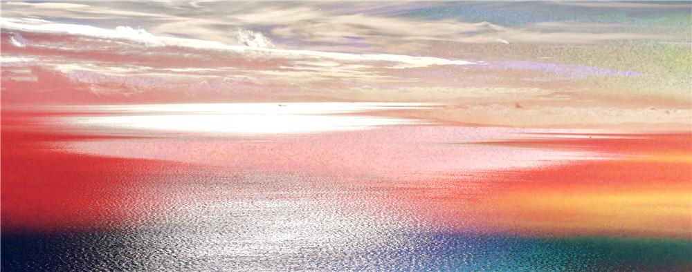 """玻利维亚小镇有面""""天空之镜"""""""
