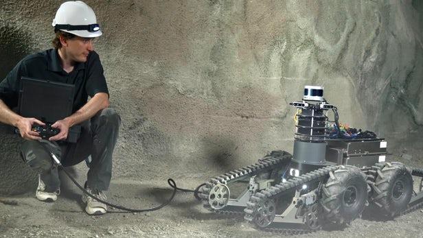 """研发用于寻找外星生命的机器人的团队将参加DARPA""""地下挑战赛"""""""