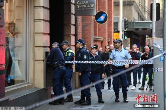 悉尼持刀伤人案后续:警方称暂未列为恐怖袭击