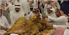迪拜土豪请客吃饭,宴席难以置信