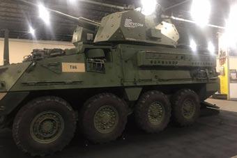 美军最新型斯崔克装甲车亮相 将配备先进炮塔