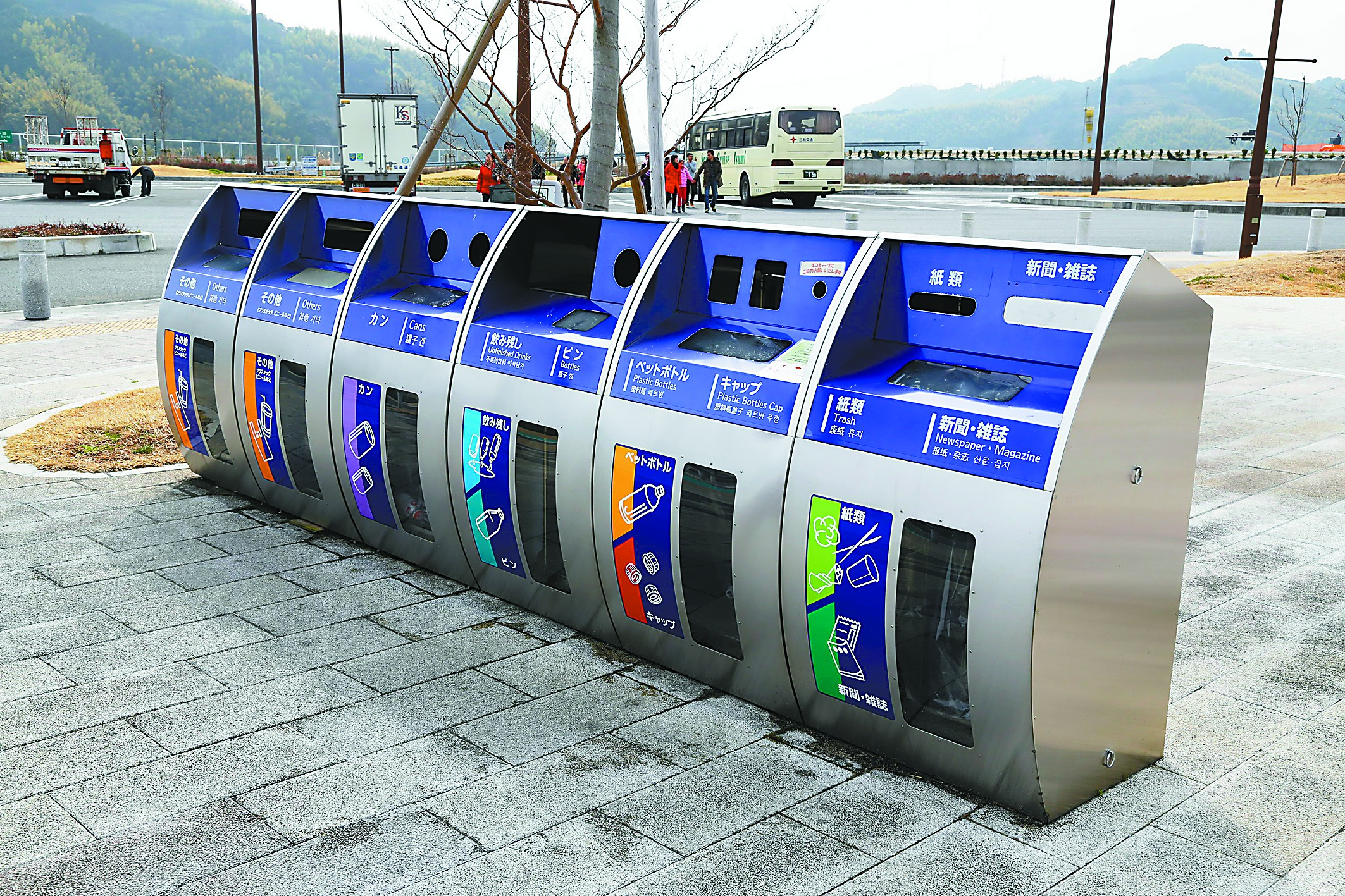 日本垃圾减量有不少好点子