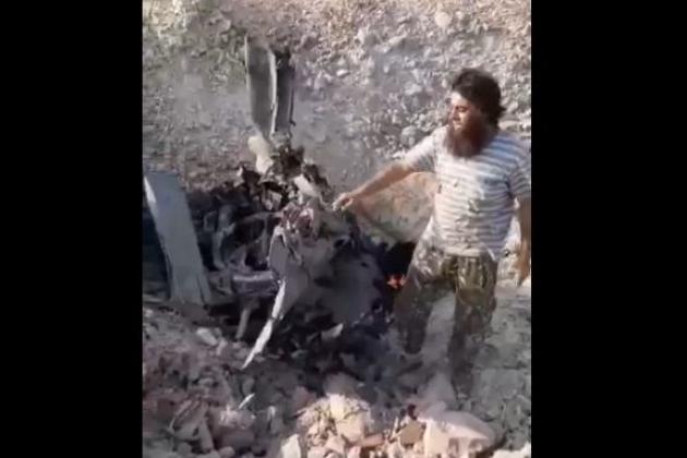 叙利亚政府军一架俄制战机被击落 飞行员被俘