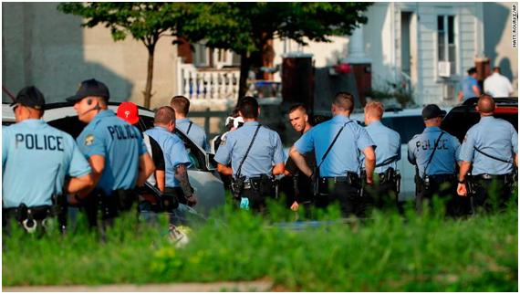 美国费城枪击事件最新进展:枪手被捕!