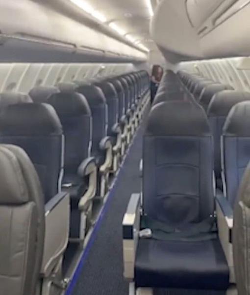 惊喜!美一男子飞机晚点 登机发现只有自己一名乘客