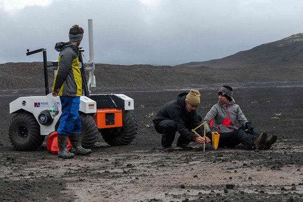 NASA赴冰岛测试太空探测器 为人类探测火星铺路