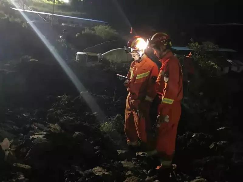 四川省应急厅:甘洛县一村庄发生山体边坡垮塌,正全力救援