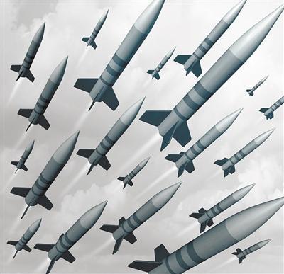 """效仿无人机""""蜂群""""战术 弹药组团作战将有勇更有谋"""