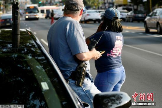 美费城枪案警方仍与第二名嫌犯对峙 特朗普关注情况