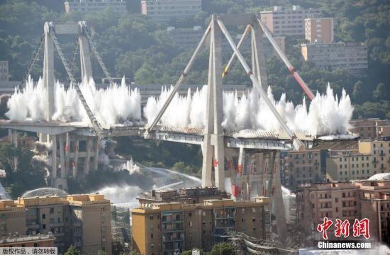 意大利热那亚大桥坍塌事故周年祭 政治危机笼罩