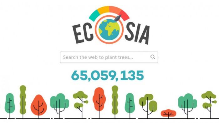 随着使用量增长 搜索引擎Ecosia提高植树计数器的速度