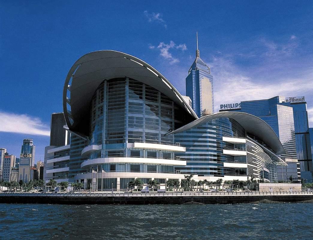 这里是香港的维多利亚港 这里是中国的香港