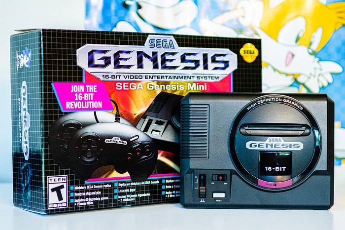 世嘉放出Genesis迷你复刻版主机预览