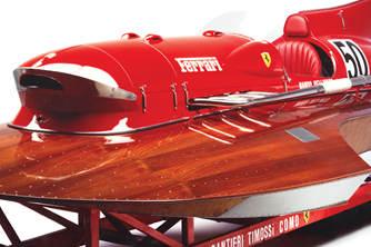 全球独一无二的法拉利快艇开始翻新发动机