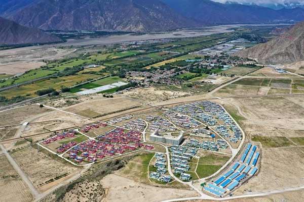 探访西藏首批易地扶贫搬迁点